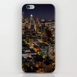 Seattle Nights iPhone Skin