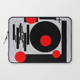 Optical Red Laptop Sleeve