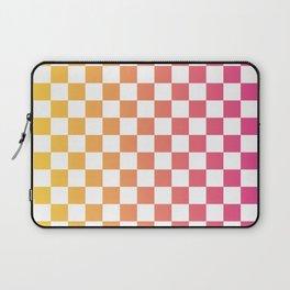 Checkerboard Color Gradient Laptop Sleeve