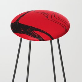 Mouth Counter Stool