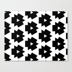 Meijer Black & White Canvas Print