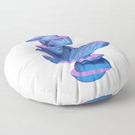Vaporwave Marble Roman Greek 3D Sliced Statue Gift Floor Pillow