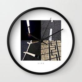 L I F E Wall Clock