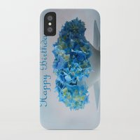 hydrangea iPhone & iPod Cases featuring Hydrangea by Fine Art by Rina