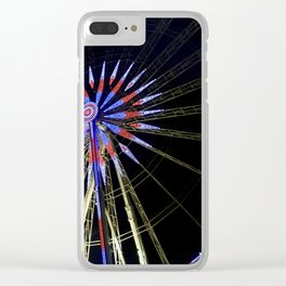 Grand Roue de Paris Clear iPhone Case