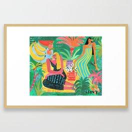 Garden Of Colors Framed Art Print