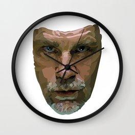 Shaping the Stars: John Malkovich Wall Clock