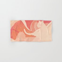 Nomade in Terracotta Hand & Bath Towel