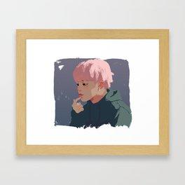 Blob Jimin Framed Art Print