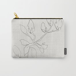 Floral Study No. 3 Carry-All Pouch