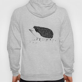 Monochrome Hedgehog Hoody