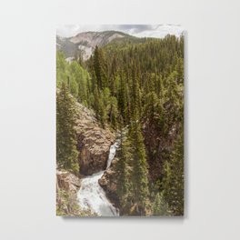 Judd Falls in Crested Butte, Colorado Metal Print