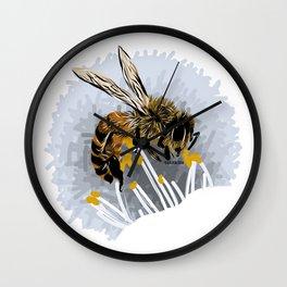 Bee - Abeja Wall Clock
