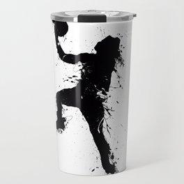 Basketball player inked Travel Mug