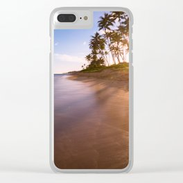 ankle deep in long exposures Clear iPhone Case