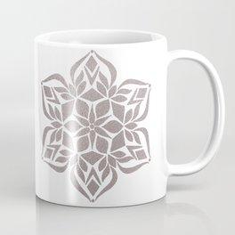 Silver Snowflake Coffee Mug
