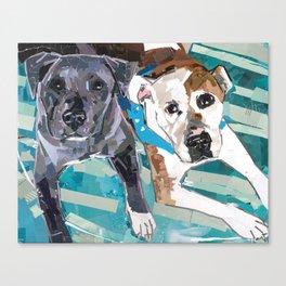 Chickie and Vinnie Canvas Print
