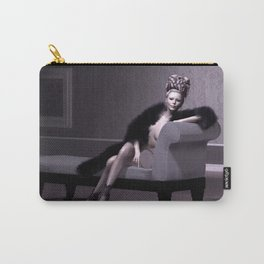 Beautiful courtesan in her lavender salon Carry-All Pouch