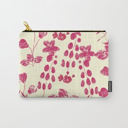 Watercolor floral garden  II Carry-All Pouch