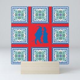 Love Retro Mini Art Print