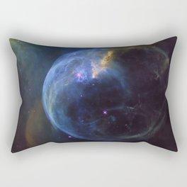 The Bubble Nebula NGC 7653 Rectangular Pillow