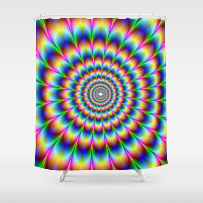Trippy Stoner Shower Curtain