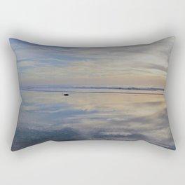 Beach with No Beginning  -   No End Rectangular Pillow