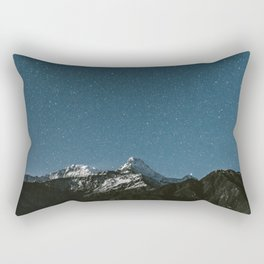 Annapurna Himalayas Rectangular Pillow