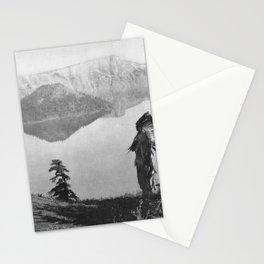 The Chief - Klamath Edward Curtis 1923 Stationery Cards