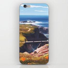 garrapata iPhone Skin