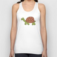 tortoise Tank Tops featuring tortoise by siloto