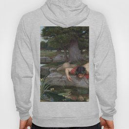 John William Waterhouse - Echo and Narcissus Hoody