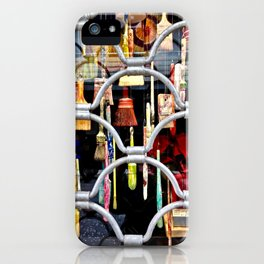 brushes in color iPhone Case