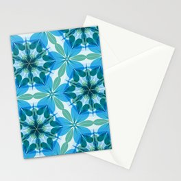 Kaleidoscopic Lagoon Stationery Cards