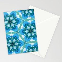 Kaleidoscopic Lagoon Stationery Cards