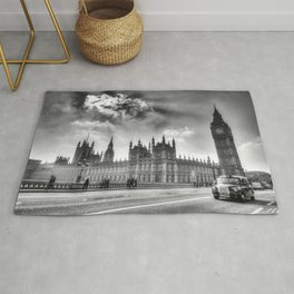 Westminster Bridge London  Rug