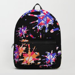 Triangles Pattern 001 Backpack