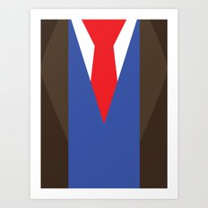The Tenth (10th) Doctor - Doctor Who Art Print