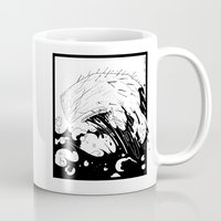 moby dick Mugs featuring Moby Dick by JoJo Seames