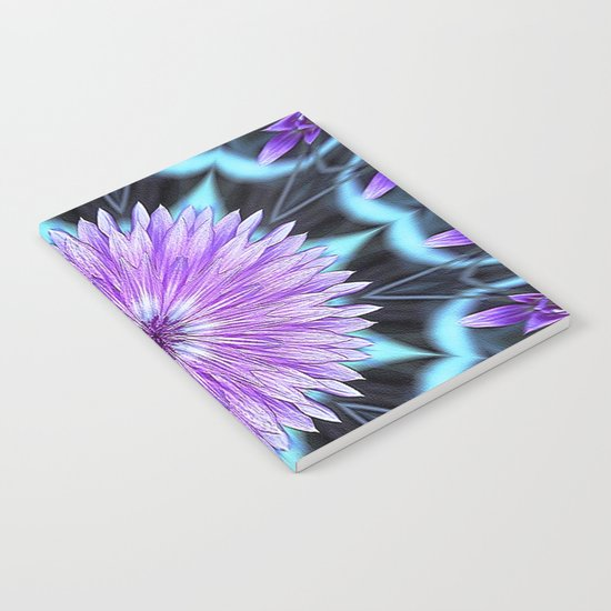 Floral Kaleidoscope Notebook