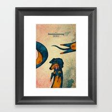Loooooong Framed Art Print