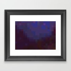 ABSTRACT PIXELS #0012 Framed Art Print