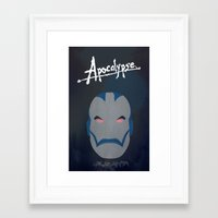 apocalypse now Framed Art Prints featuring Apocalypse (Now) by AnthemTheFaux