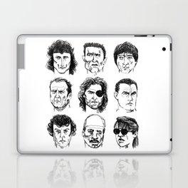80s Action Stars Laptop & iPad Skin