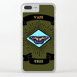 vape free Clear iPhone Case