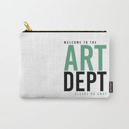 ART DEPT GOO 2 GO AWAY Carry-All Pouch