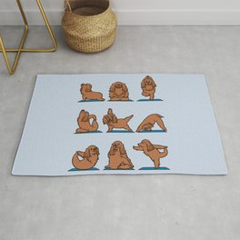 Cocker Spaniel  Yoga Rug