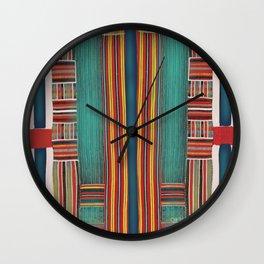 Pin Striped Wall Clock