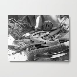 Old Bike Metal Print