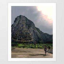 Khao Cheejan Mountain Art Print